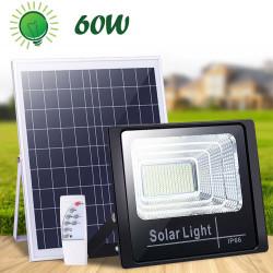Proiector 60w, 88 LED SMD, Panou Solar si Telecomanda cu functii multiple
