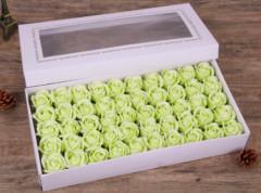 Set 50 trandafiri de sapun, galben