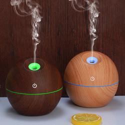 Umidificator sfera, 130ml, LED