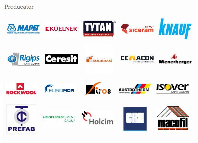Producatori Materiale Constructii | TehnoConstruct.ro