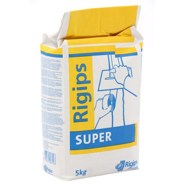 super rigips 5 kg umplere si finisare rosturi gips carton. Black Bedroom Furniture Sets. Home Design Ideas