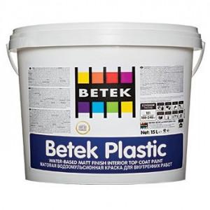 Betek Plastic - Vopsea Lavabila Economica Mata de Interior