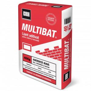 Multibat - Liant Zidarie si Tencuiala 40 kg