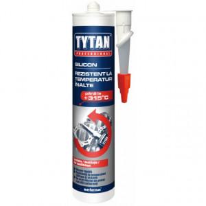 Tytan Silicon Rezistent la Temperaturi Inalte pentru Instalatii Incalzire, Pompe de Apa, Motoare, Conducte si Tevi, Cauciuc, Cabluri, Furtune - Tub 280 ml