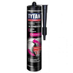 Tytan X-Treme - Etansant Rapid pentru Acoperis, Tabla, Tigla Ceramica, Jgheaburi, Burlane, Membrane Bituminoase - Tub 280 ml