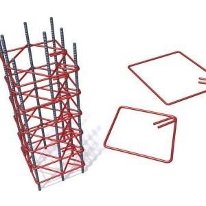 Etrier Fier Beton PC52 sau BST500 8mm 15x20 cm