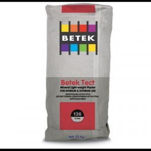 Betek Tect 136 - Tencuiala Minerala cu Fibre Polipropilena 2,0 mm