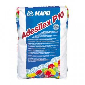 Adesilex P10 - Adeziv Alb pentru Mozaic din Sticlă, Ceramică, Marmură 25 kg