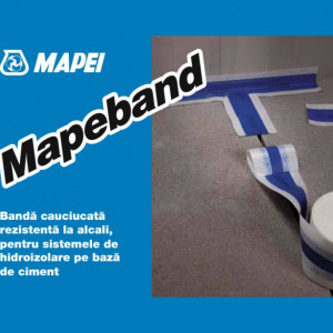 Mapeband - Banda Cauciucata pentru Etansare Rosturi Dilatare si Imbinari