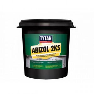 Abizol 2KS - Mastic Bicomponent pentru Hidroizolare Fundatii si Lipire Placi Polistiren 15L