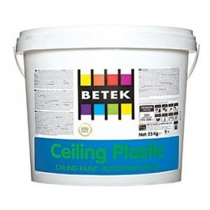 Betek Ceiling Plastic - Vopsea Lavabila Mata Speciala pentru Tavane