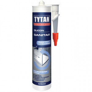 Tytan Silicon Sanitar pentru Etansari in Bai si Bucatarii - Tub 280 ml.