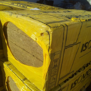 Vata Bazaltica ISOVER PLU 100 - pachet 2,40 mp, 40 kg/mc
