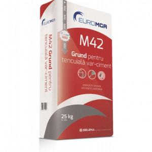 M42 Grund pentru Tencuială Var Ciment - 25 kg