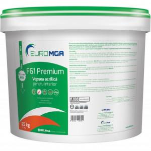 F61 PREMIUM - Vopsea Acrilică de Interior - Găleată 25 kg