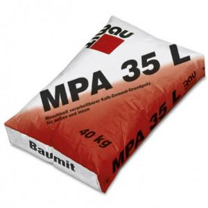 Baumit MPA 35 L - Tencuiala Mecanizata Var-Ciment cu Perlit pentru Exterior