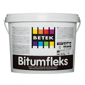 Betek Bitumfleks - Material Hidroizolant Bituminos 20 kg