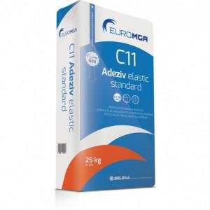 C11 Adeziv Standard Profesional Placări Plăci Ceramice - 25 kg