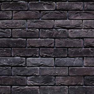 Caramida Aparenta Antichizata Bizantin Black Lava (210 x 65 x 20 mm)