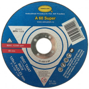 Disc Taiere Inox (panza flex) A60 Super