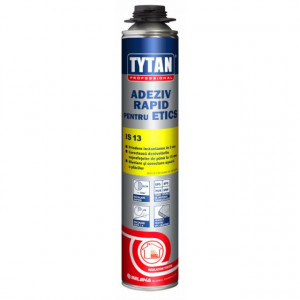 Tytan IS 13 - Adeziv Rapid tip Spuma pentru Polistiren Expandat, Extrudat si Vata Bazaltica 750 ml