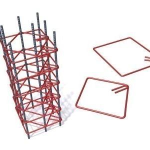 Etrier Fier Beton PC52 sau BST500 8 mm 12x12 cm