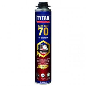 Tytan Ultra Fast 70 - Spuma Poliuretanica Rapida pentru Pistol 870 ml