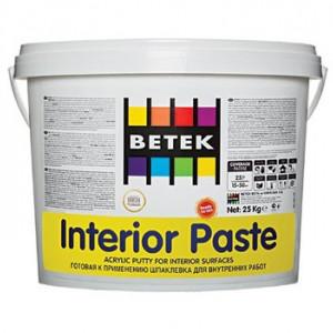 Betek Interior Paste - Glet Pasta pentru Interior