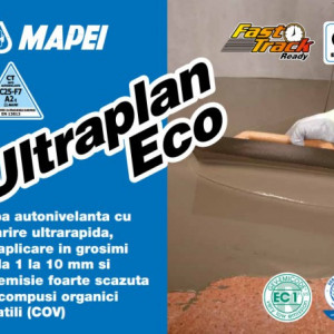 Ultraplan Eco - Sapa Autonivelanta cu Intarire Ultrarapida si Rezistenta Mecanica Mare 23 kg