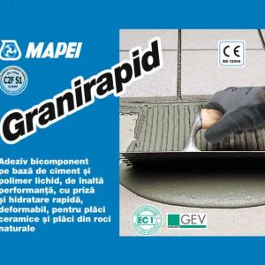 Granirapid - Adeziv cu Priza Rapida pentru Gresie, Faianta, Piatra Naturala