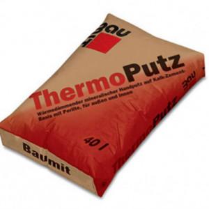 Baumit ThermoPutz - Tencuiala Termoizolanta Manuala pe baza de Perlit 40 L