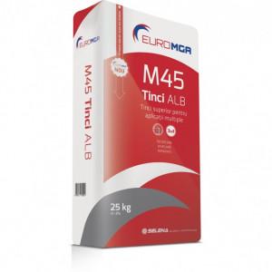 M45 Tinci Alb pentru Utilizări Multiple - 25 kg