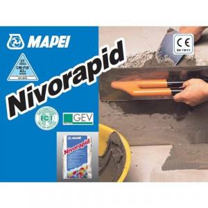 Nivorapid - Mortar Rapid de Reparatii 1-20 mm pentru Sape, Tencuieli, Beton, BCA, Caramida 25 kg