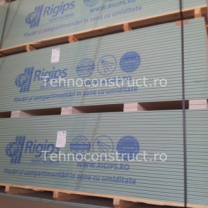 Placa gips-carton Rigips RBI 12.5mm (2600mmx1200mm)