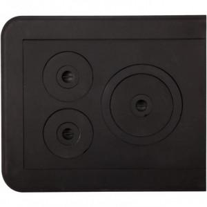 Plita Fonta Soba cu Rama 610 x 530 mm (3 ochiuri)