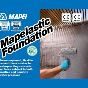 Mapelastic Foundation - Mortar pentru Hidroizolare Suprafete din Beton 32 kg