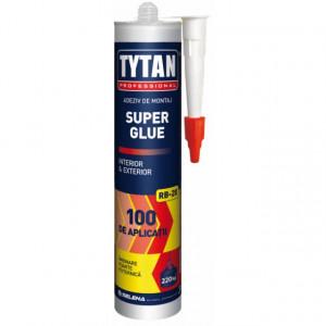 Super Glue RB-20 - Adeziv Universal de Montaj pentru Lemn, Beton, Cărămidă, Tencuială - Tub 310 ml.