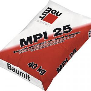 Baumit MPI 25 - Tencuiala Mecanizata Var-Ciment pentru Interior