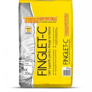 FINGLET-C Glet Superfin pentru Finisaje la Interior  20 kg
