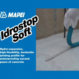Idrostop Soft - Cordon Cauciuc pentru Etansare Rosturi Piscine, Bazine de Apa
