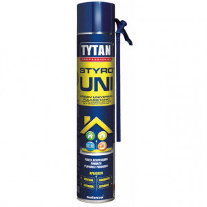 Tytan Styro UNI - Adeziv Spuma pentru Polistiren si Profile Decorative 750 ml