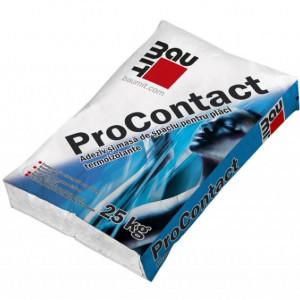 Baumit ProContact - Adeziv si Masa de Spaclu pentru Polistiren si Vata Bazaltica 25 kg