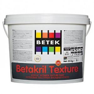 Betek Betakril Texture - Vopsea Texturata Mata cu Silicon de Exterior