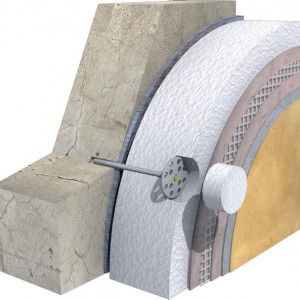 Termosistem Fatada cu Polistiren Expandat Grafitat Austrotherm EPS 100 - 10 cm /mp