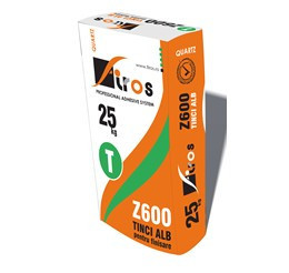 Z600 - Tinci Alb (nivelare/finisare tencuiala) 25 kg
