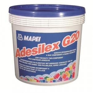 Adesilex G20 - Adeziv pentru Pardoseli din Cauciuc, PVC, Textile, Linoleum 10 kg