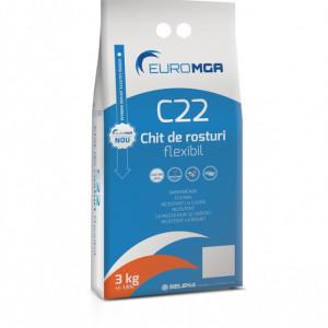 C22 Chit - Chit de Rosturi Flexibil pentru Placi Ceramice, Piatra Naturala, Klinker