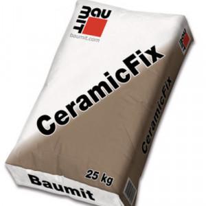 Baumit CeramicFix - Adeziv Caramida Aparenta, Klinker, Gresie Portelanata, Piatra Naturala