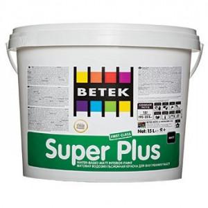 Betek Super Plus - Vopsea Superlavabila Mata de Interior
