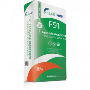 F91 Tencuială Decorativă Minerală Structurată - 25 kg